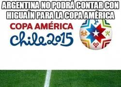 Enlace a Argentina no podrá contar con Higuaín para la Copa América