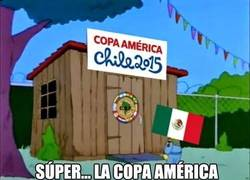Enlace a México en la Copa América: Descripción Gráfica