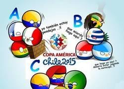 Enlace a Los tres grupos de la Copa América. ¡Que empiece el fútbol!