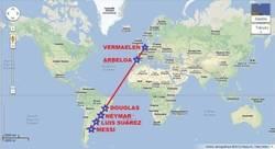 Enlace a Mapa lineal definitivo del fútbol