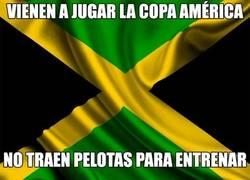 Enlace a Jamaica se olvidó los balones para la Copa América...
