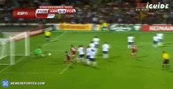 Enlace a GIF: Gol de Armenia a Portugal, se pone 2-3 el partido
