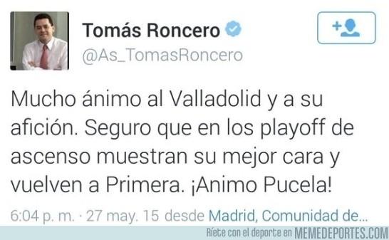 584322 - Momento exacto en el que el Real Valladolid no iba a subir a Primera división