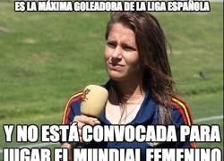 Enlace a Es la maxima goleadora de la liga española