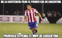 Enlace a Ya tenemos MVP del Argentina-Paraguay