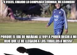 Enlace a ¿Se llevan mal Tévez y Messi? No lo creo