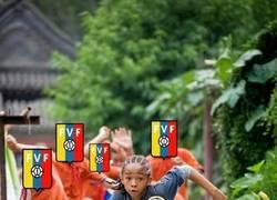 Enlace a Venezuela frente a Colombia