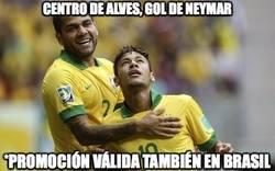 Enlace a Vaya dupla la de Alves-Neymar