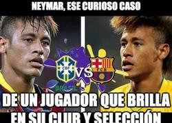 Enlace a Vaya nivel el de Neymar