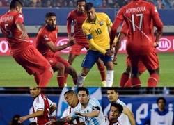 Enlace a Los marcajes a Neymar y Messi en la Copa América