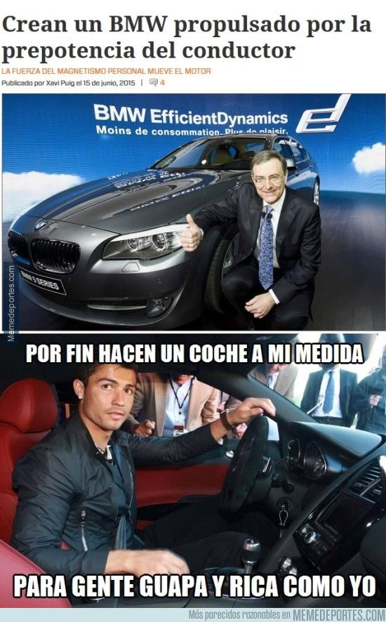 587321 - Cristiano no volverá a comprarse más coches caros