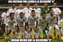 Enlace a México B callando bocas