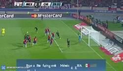 Enlace a GIF: Goooool de Raul Jiménez!! Mexico se vuelve a adelantar 2-1