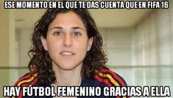 Enlace a Gracias a ella tendremos mujeres en el FIFA 16