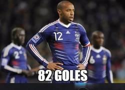 Enlace a TOP 7 Goleadores en selecciones. Neymar con solo 23 años se hace un hueco entre ellos
