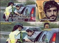 Enlace a Fernando Alonso y la velocidad