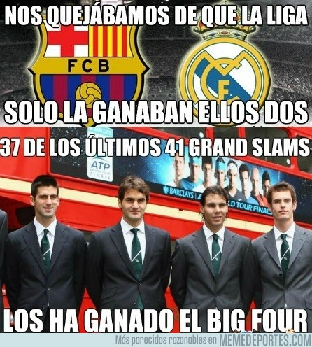 588829 - Dominio absoluto del Big Four