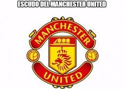 Enlace a Futuro escudo del Manchester United