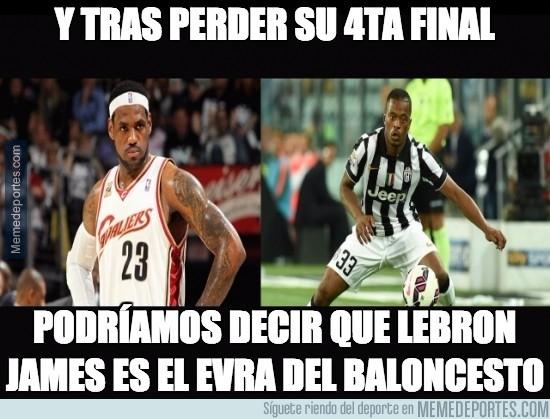 589439 - LeBron James es el Evra del baloncesto