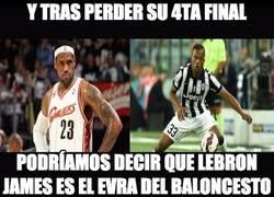 Enlace a LeBron James es el Evra del baloncesto