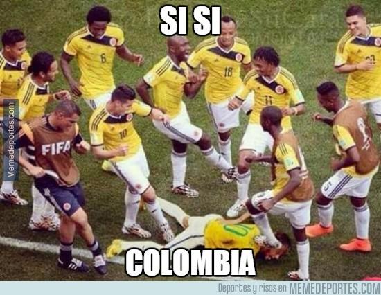 591082 - Colombia cuando ven a Neymar
