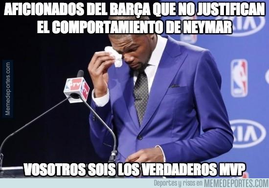 592001 - Aficionados del Barça que no justifican el comportamiento de Neymar