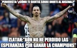 Enlace a Zlatan rechaza al Arsenal de forma cruel
