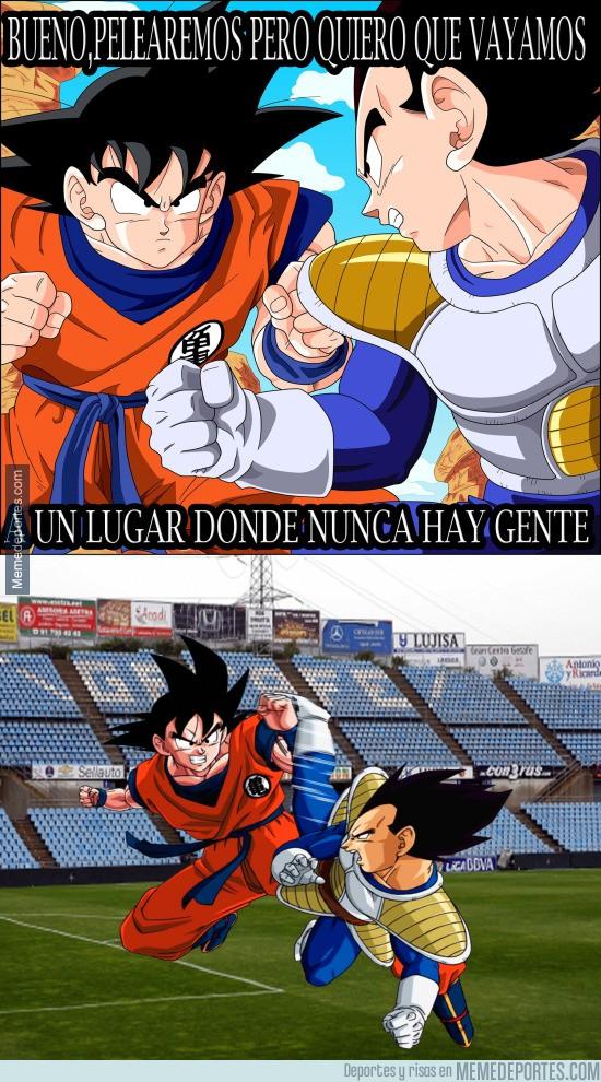 592992 - Goku , ese luchador que siempre pelea en lugares vacíos