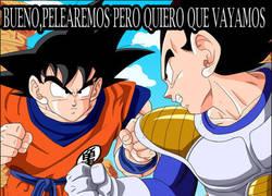 Enlace a Goku , ese luchador que siempre pelea en lugares vacíos