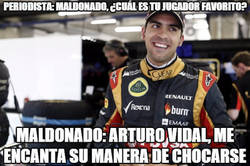 Enlace a Arturo Vidal gana adeptos