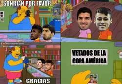 Enlace a Neymar y Luis Suárez en la Copa América