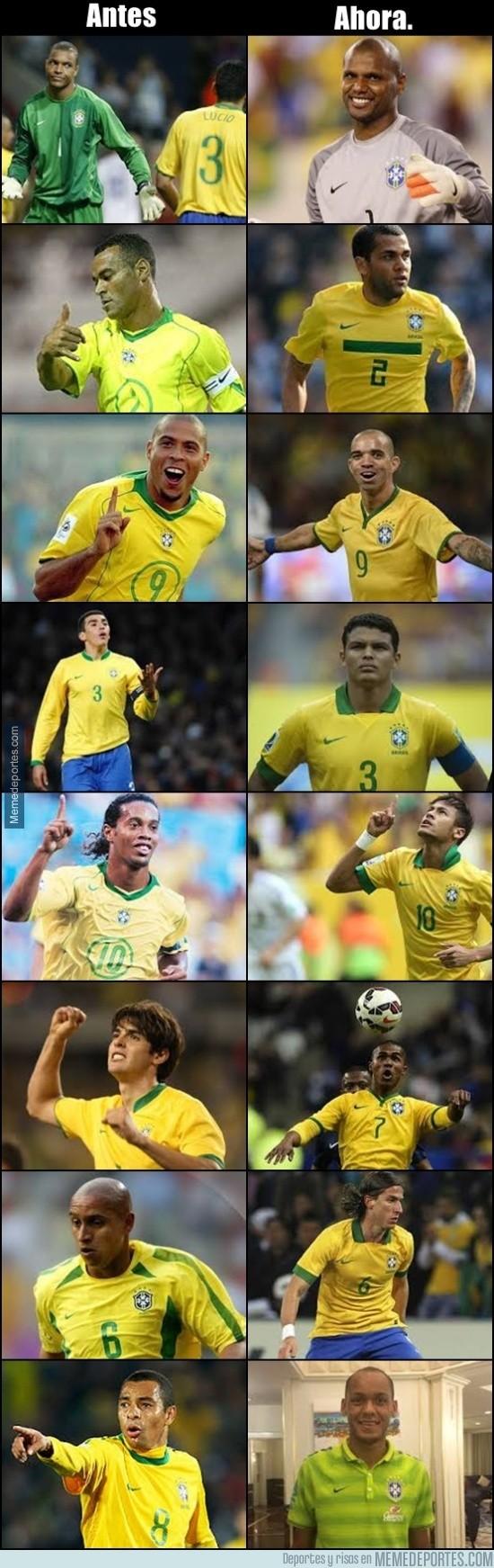 594429 - Comparemos el viejo Brasil con el actual y lloremos todos