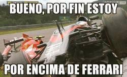 Enlace a Alonso ya ha logrado su objetivo