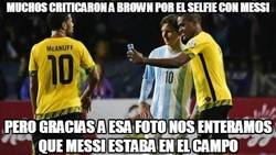 Enlace a Mucho Respect para Brown