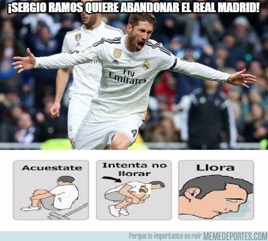 597252 - ¡Sergio Ramos quiere abandonar el Real Madrid!