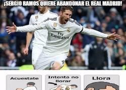 Enlace a ¡Sergio Ramos quiere abandonar el Real Madrid!
