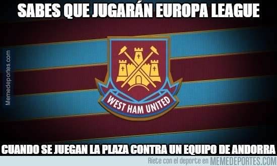 597309 - El West Ham ya está en la Europa League