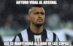 Enlace a En Inglaterra afirman que Arturo Vidal será jugador de Arsenal
