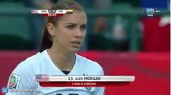 Enlace a GIF: Con estos dos goles USA elimina a Colombia del Mundial Femenino