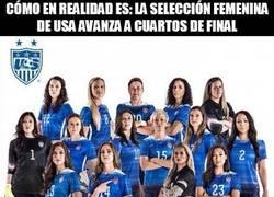 Enlace a cómo en realidad es: la selección femenina de usa avanza a cuartos de final