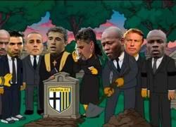 Enlace a Un minuto de silencio en honor al Parma