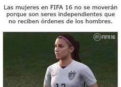 Enlace a Las mujeres en FIFA 16