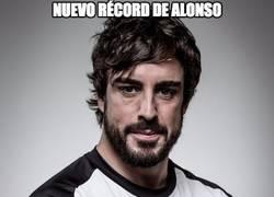 Enlace a Nuevo récord de Alonso