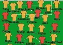 Enlace a Manchester United 2015/2016 si los rumores fueran ciertos