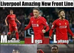 Enlace a La nueva alineación del Liverpool: MILFS