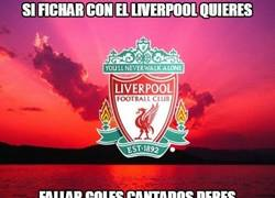 Enlace a La política de fichajes del Liverpool