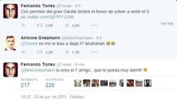 Enlace a El buen rollo entre Torres y Griezmann en Twitter
