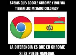 Enlace a Diferencias entre Chrome y Bolivia