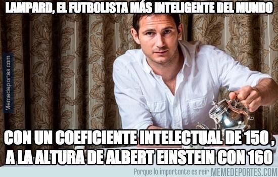 601750 - Lampard, el futbolista más inteligente del mundo