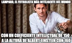 Enlace a Lampard, el futbolista más inteligente del mundo